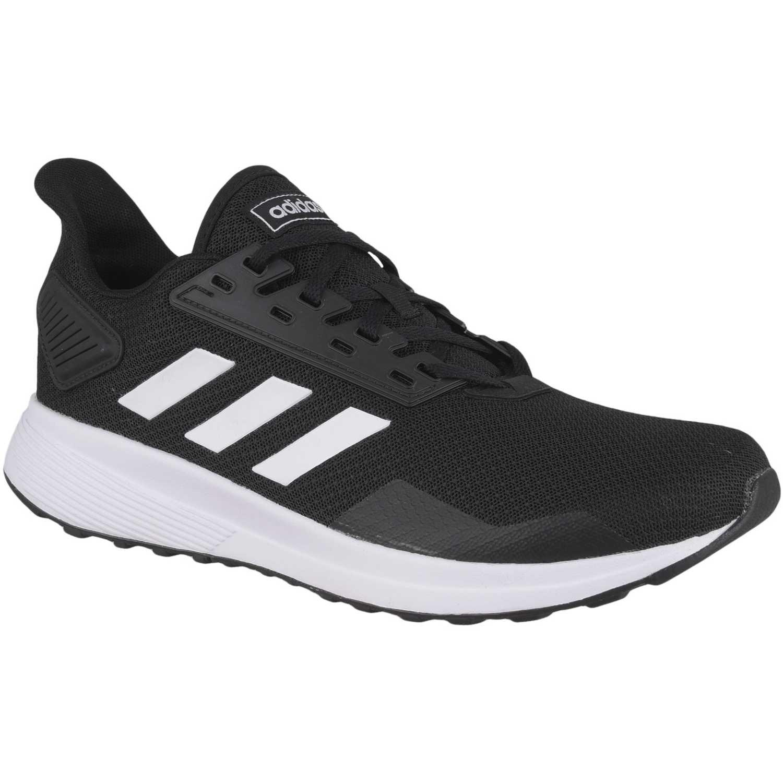 Adidas duramo 9 Negro / blanco Walking | platanitos.com