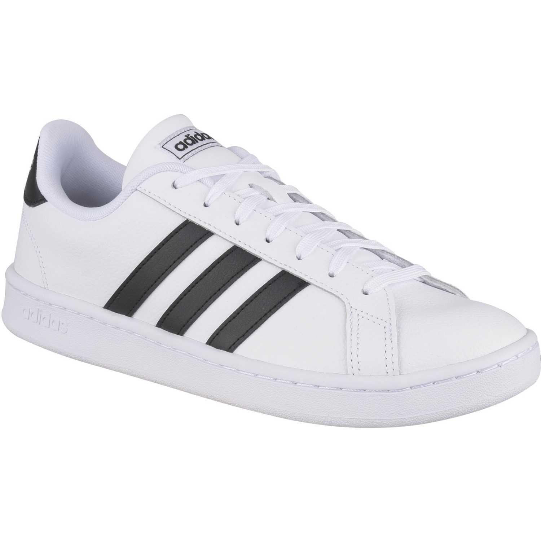 Adidas Grand Court Blanco / negro Walking
