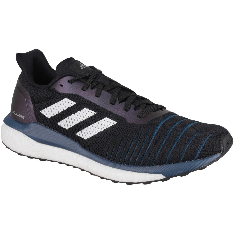 Adidas solar drive m Negro / blanco Running en pista