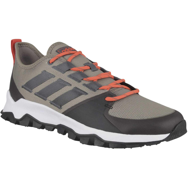 Adidas kanadia trail Marrón / naranja Walking