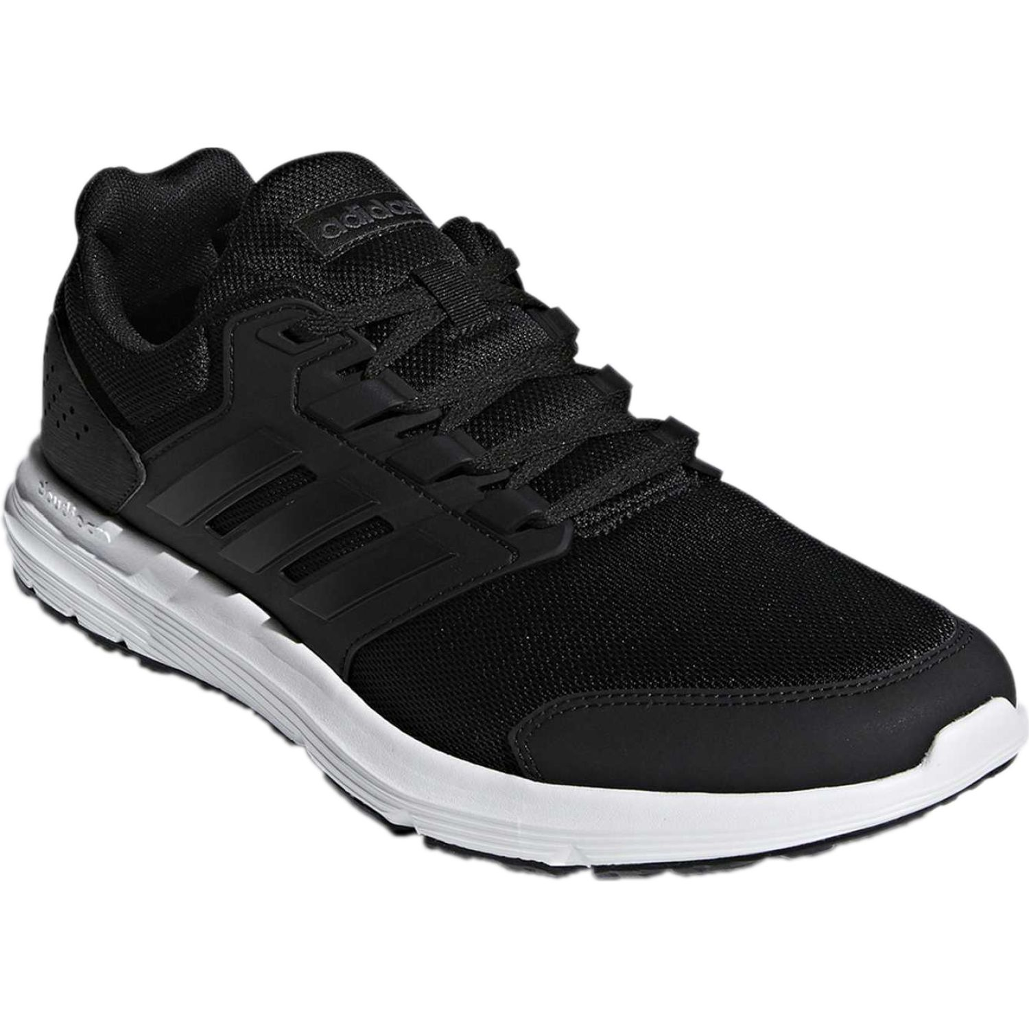 Adidas galaxy 4 Negro / blanco Walking | platanitos.com
