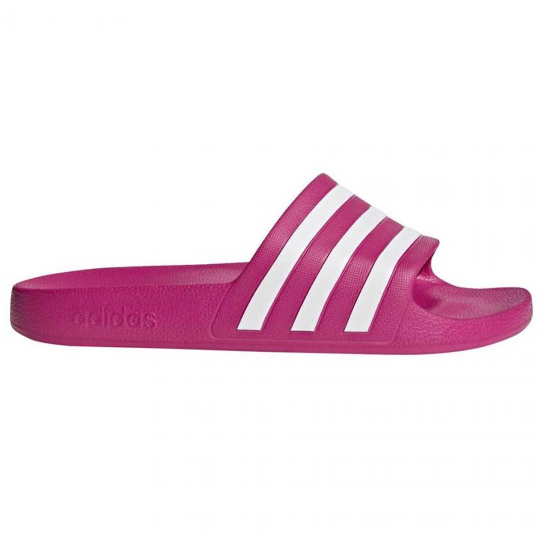 Adidas adilette aqua Fucsia / blanco Sandalias deportivas y slides