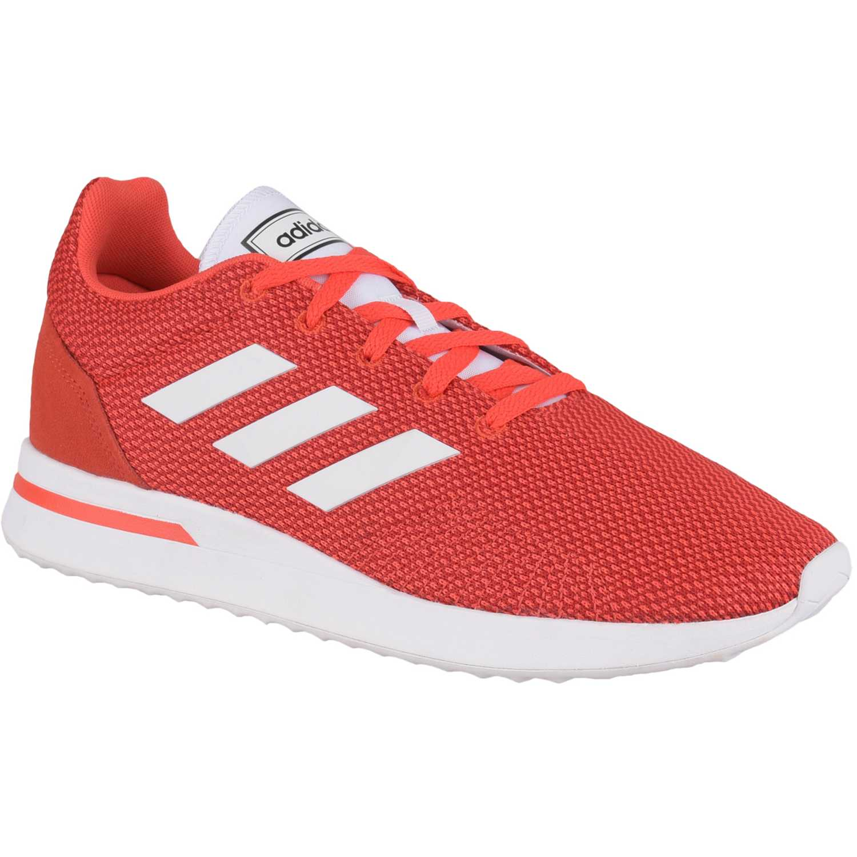 Adidas run70s Rojo / blanco Walking