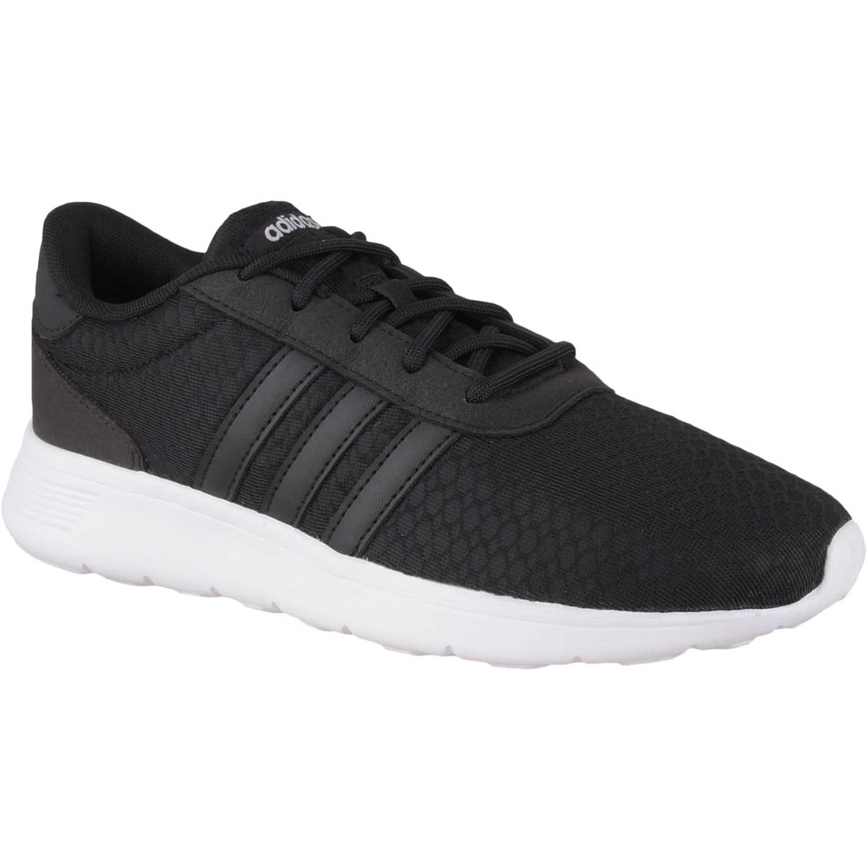 Adidas Lite Racer Negro / blanco Walking