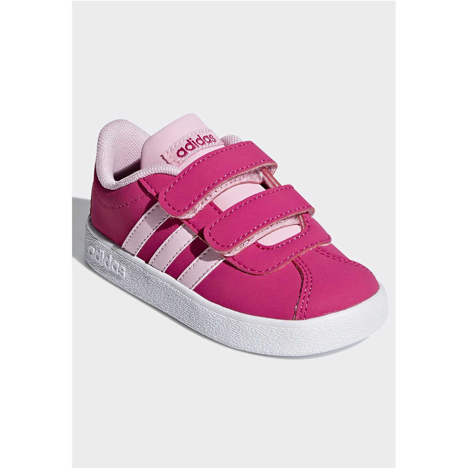Adidas vl court 2.0 cmf i Fucsia / blanco Walking