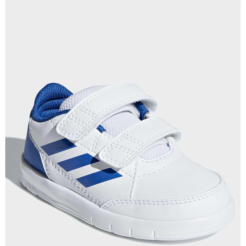 Adidas altasport cf i Blanco / azul Walking