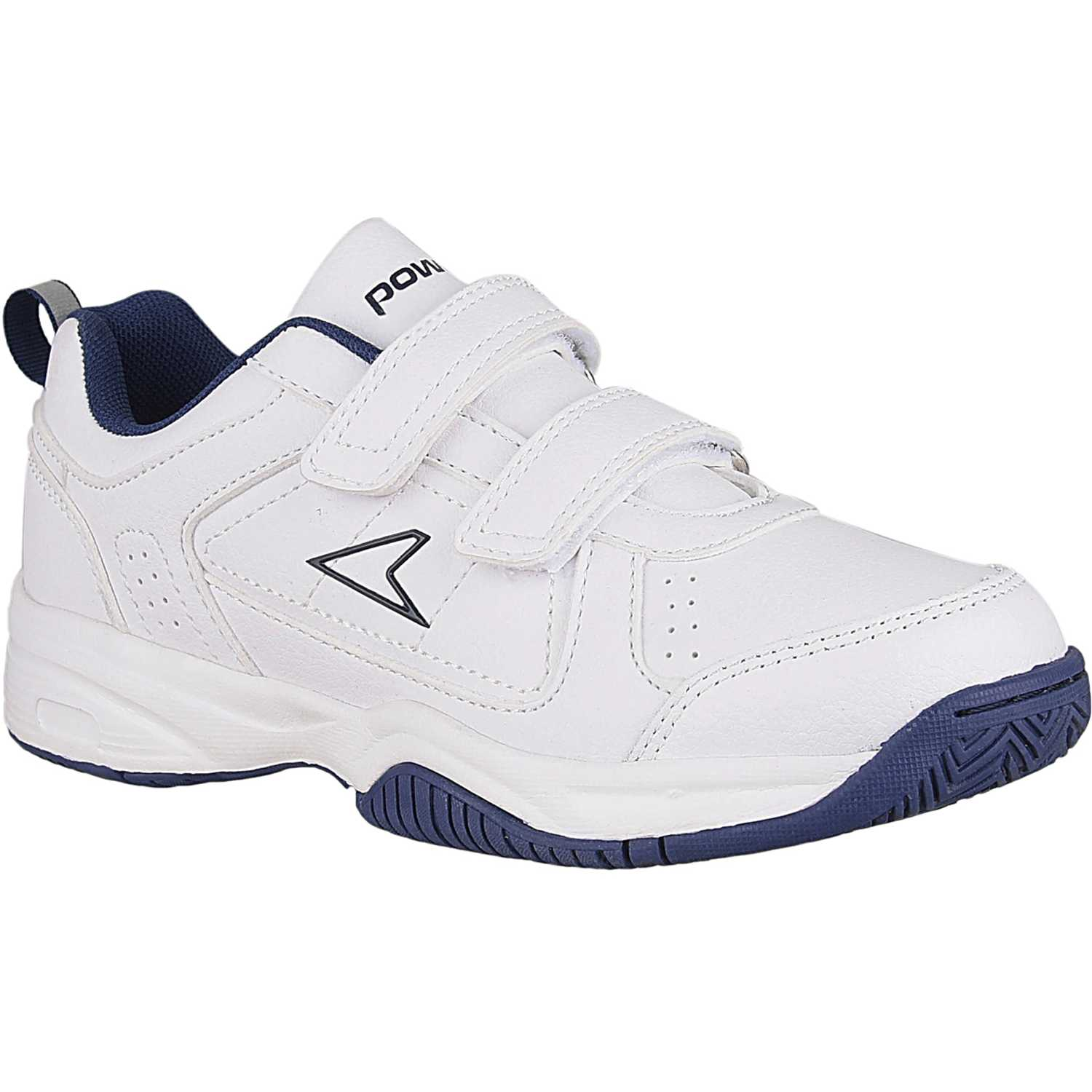 Walking de Niño Power Blanco / azul chip mission vel 1306