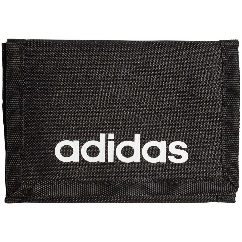 Billetera de Hombre Adidas Negro lin core wallet
