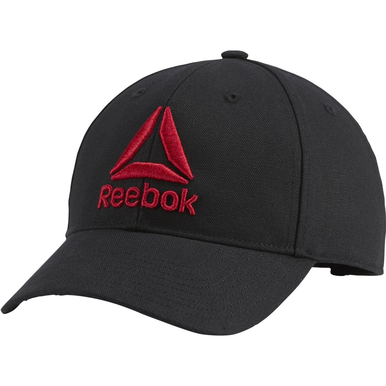 Reebok act enh baseb cap Negro / rojo Gorros de Baseball