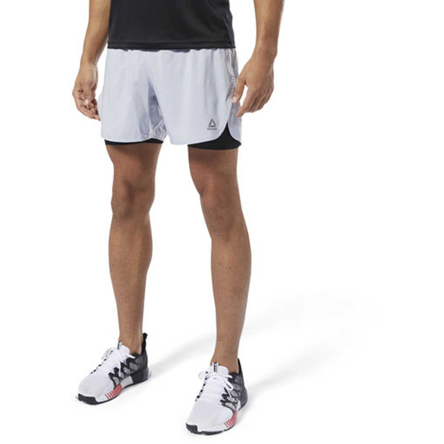 Reebok re  2-1  short Blanco
