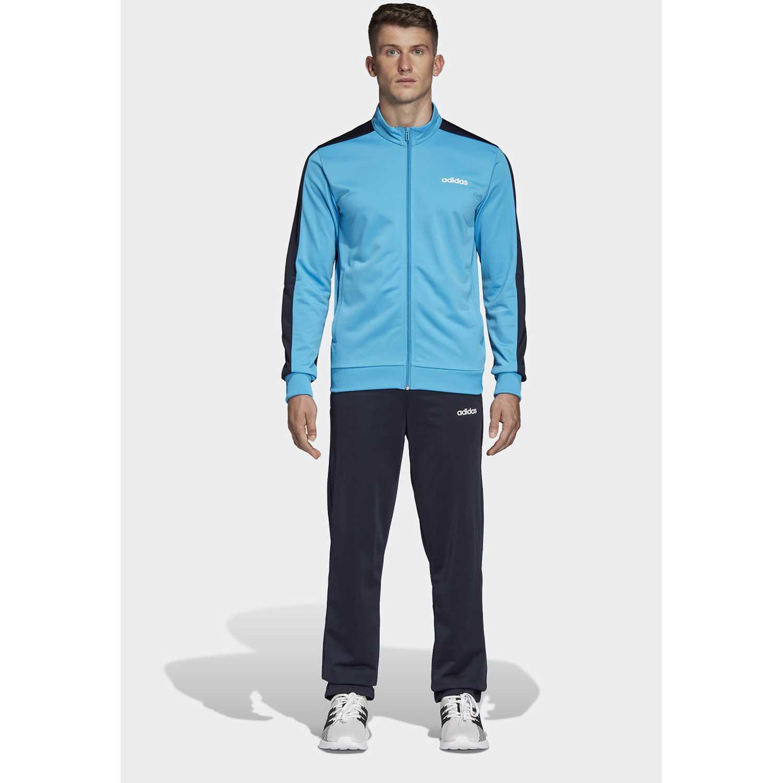 Adidas mts basics Negro / turquesa Buzos Deportivos