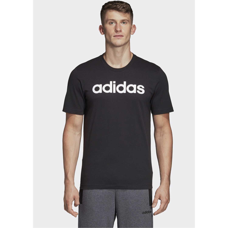 Adidas E Lin Tee Negro Camisetas y Polos Deportivos