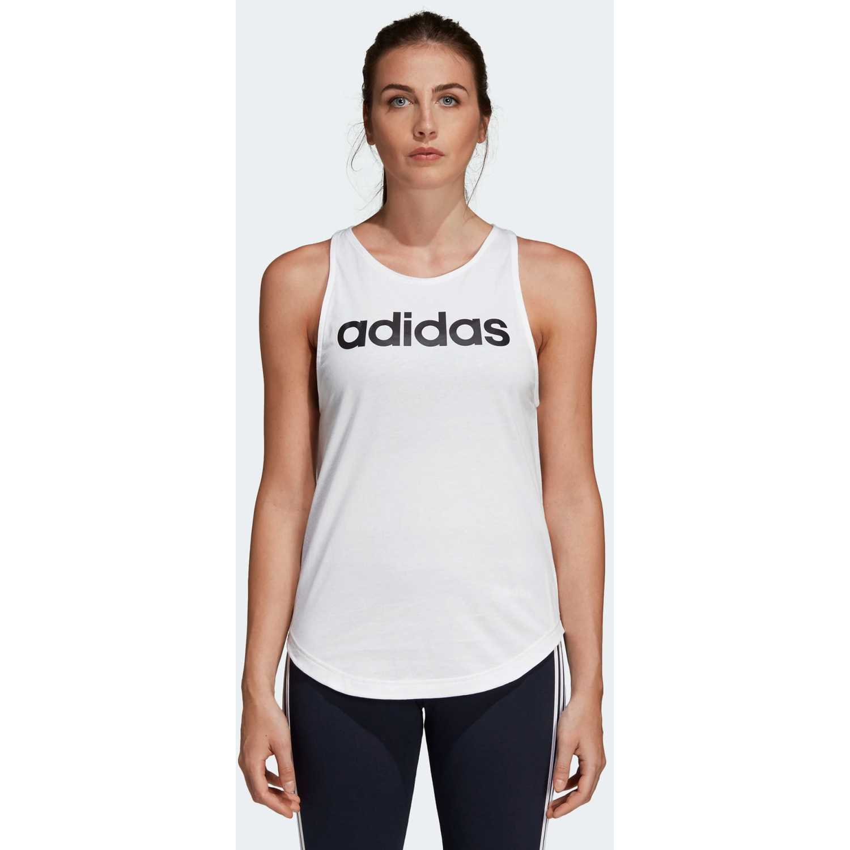 Adidas w e lin loos tk Blanco Tank Tops