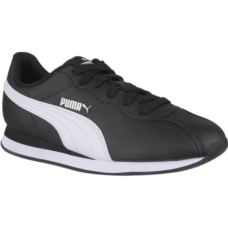 Puma Puma Turin II Jr Negro / blanco Walking