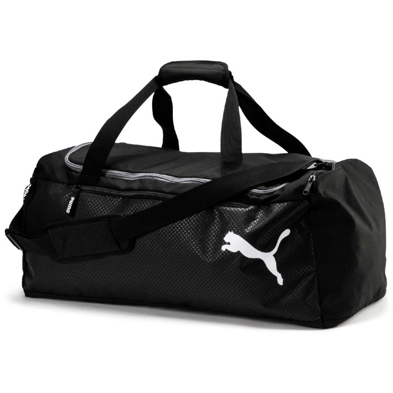 Puma fundamentals sports bag m Negro Bolsos de gimnasio