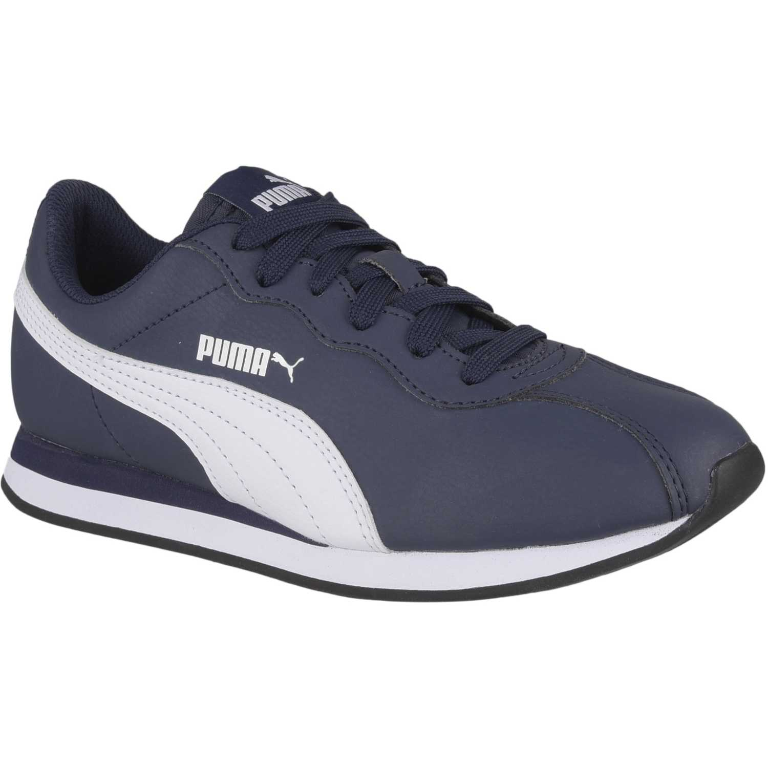 Puma Puma Turin II Jr Azul / blanco Walking