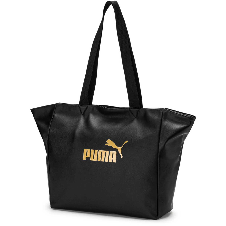 Shopper De Negro Wmn Core Bolso Up Mujer Puma Large 8n0vwmNO