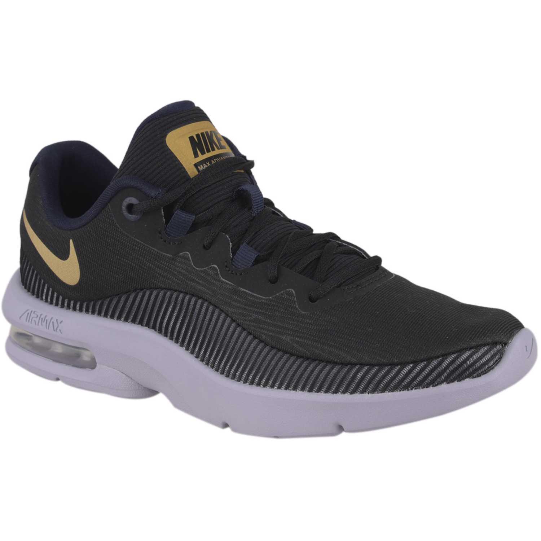 Deportivo de Mujer Nike Negro / amarillo wmns nike air max advantage 2