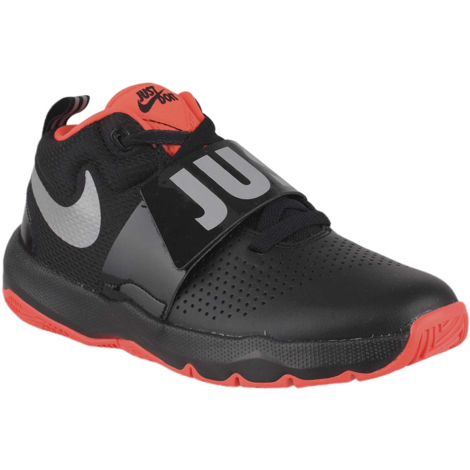 Nike team hustle d 8 jdi bg Negro / rojo Fitness y Cross-Training