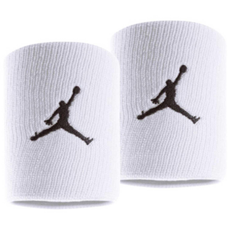 Nike jordan jumpman wristbands Blanco pulseras