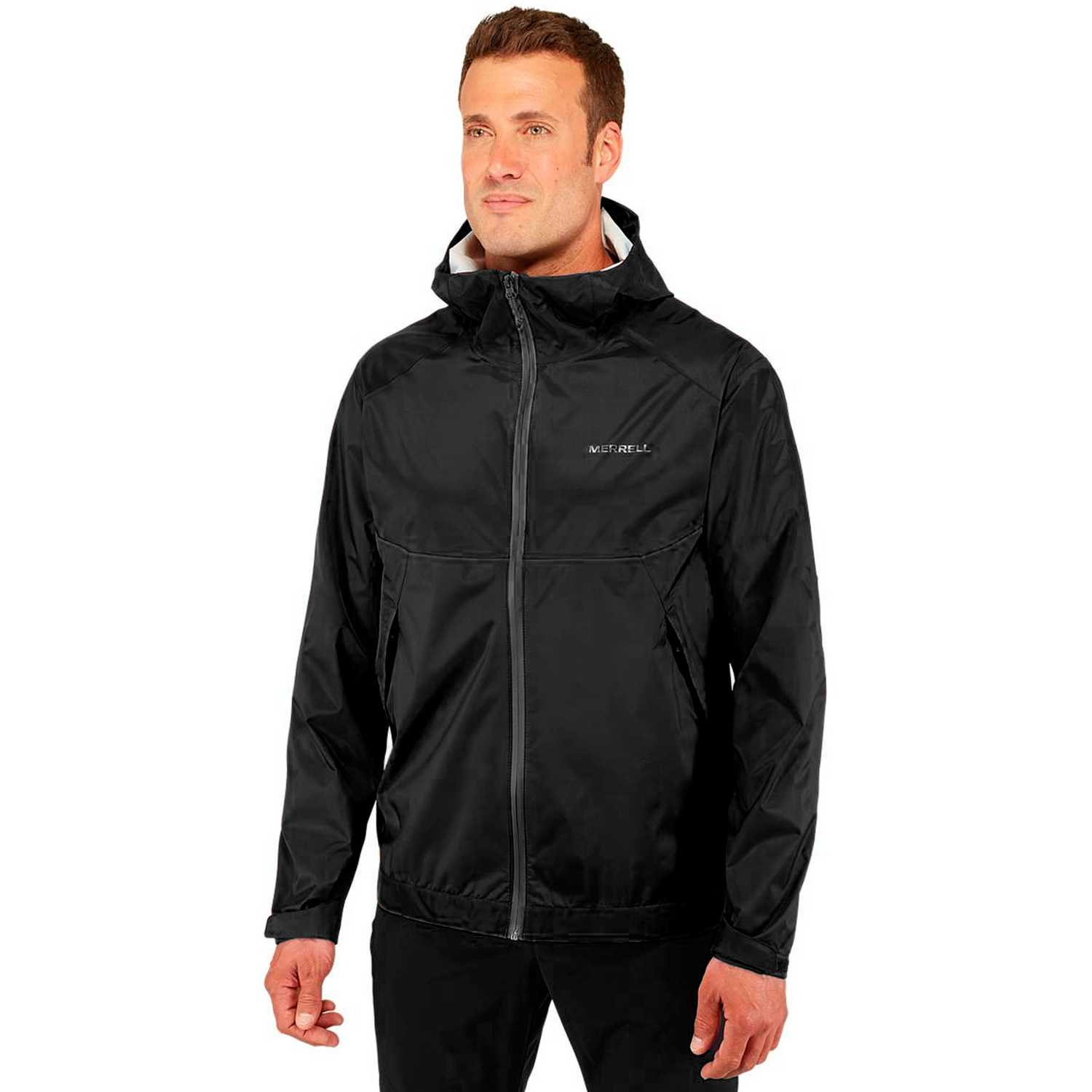 Casacas de Hombre Merrell Negro fallon 4.0 fz noninsulated jacket