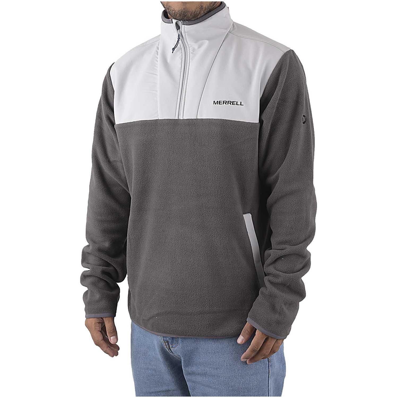 Merrell trailhead hybrid polar 1/4 zip Plomo Sweatshirts Deportivos