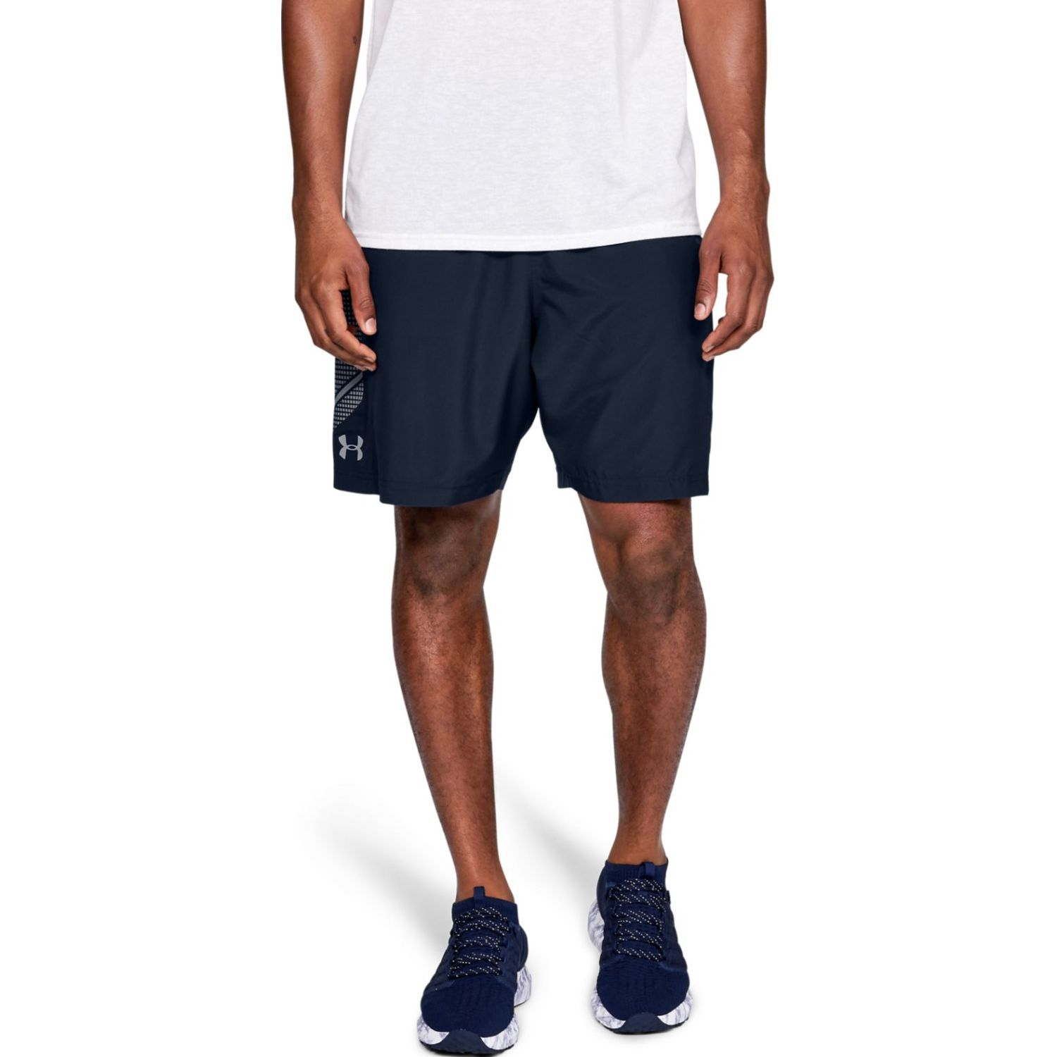 Under Armour Woven Graphic Short-NVY Navy Shorts Deportivos