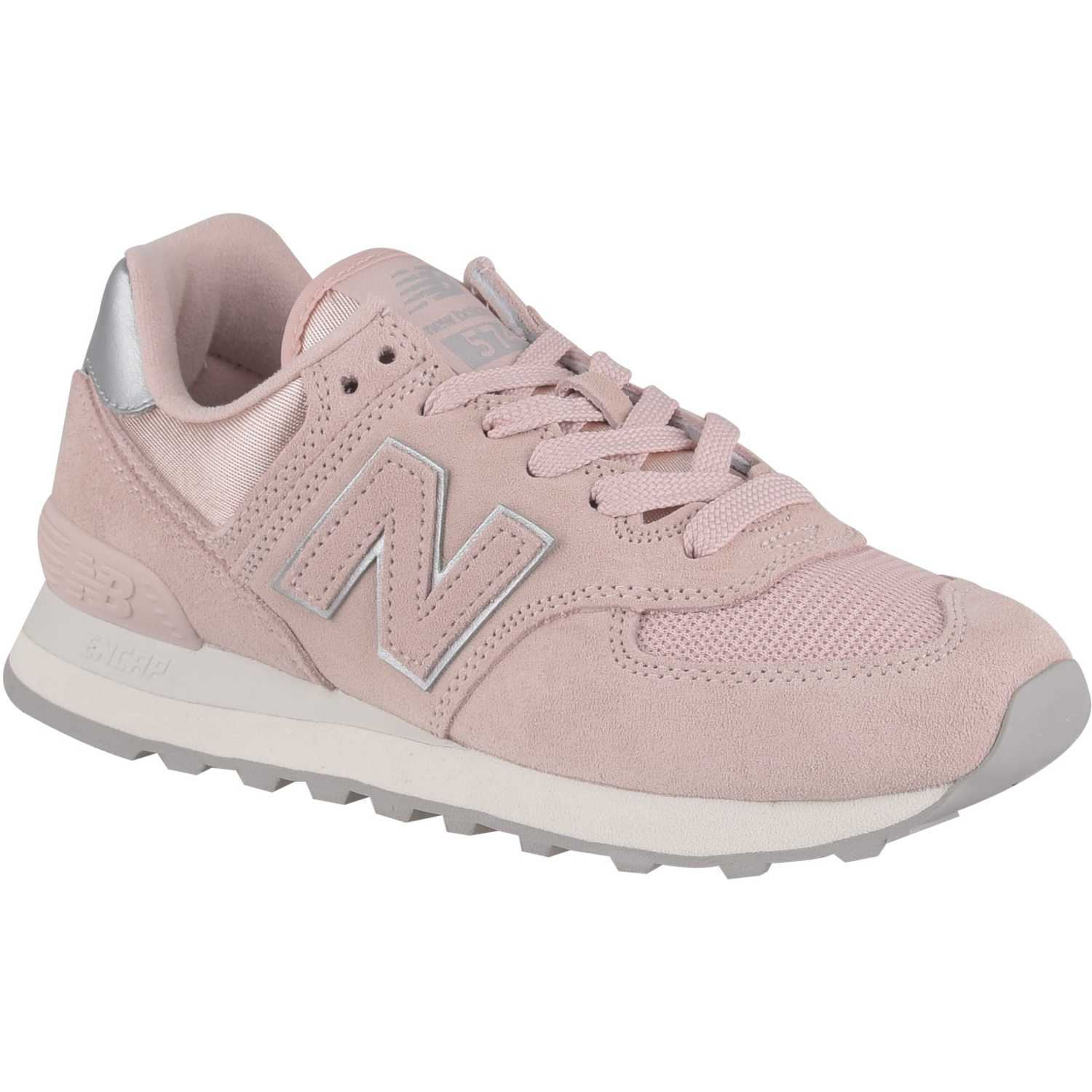 New Balance 574 Rosado / gris Walking | platanitos.com
