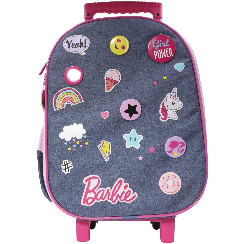 Barbie Maleta con ruedas BARBIE Azul mochilas
