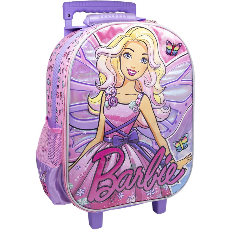 Barbie maleta con ruedas barbie Rosado Maletas para Niños