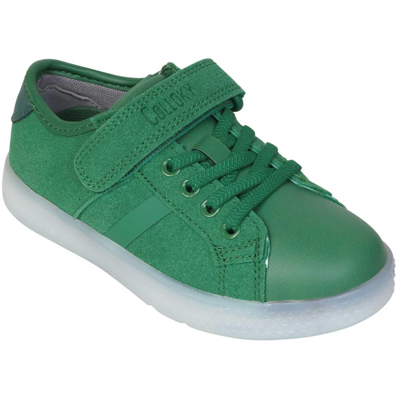 Zapatilla de Niña Colloky Verde 5701-70