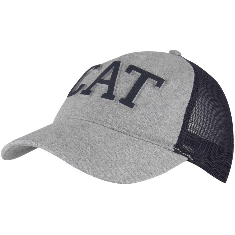 Gorro de Hombre CAT Gris / negro letterman fill trucker hat