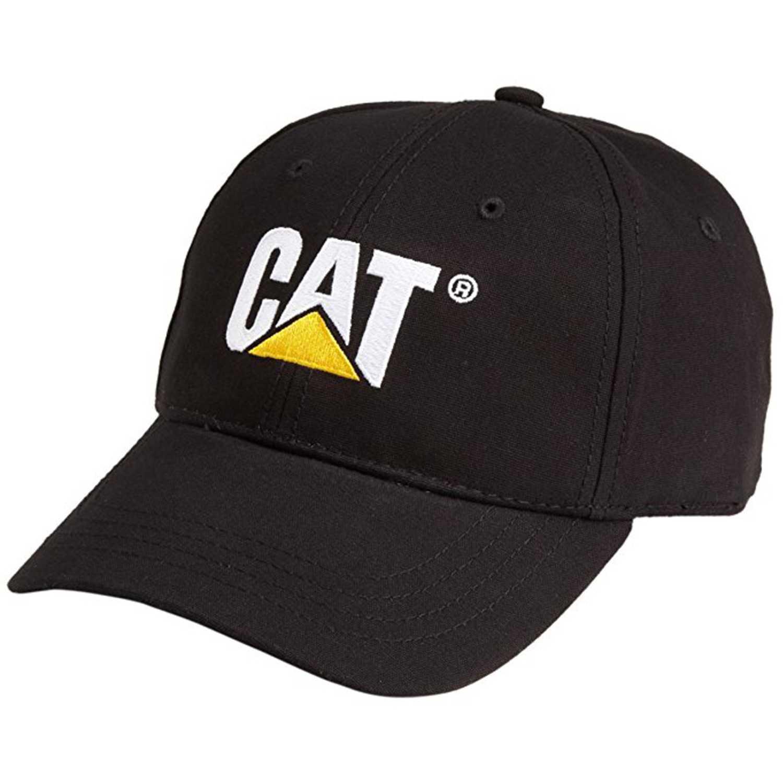 CAT Classic Logo Hat Negro Gorras de béisbol