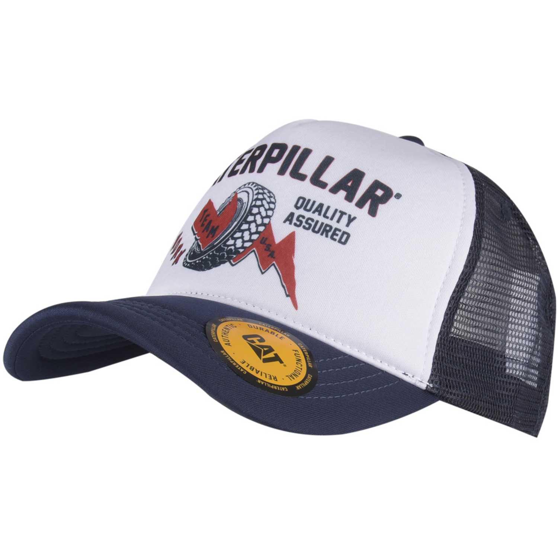 Gorros de Niña CAT Navy / Blanco round up trucker cap