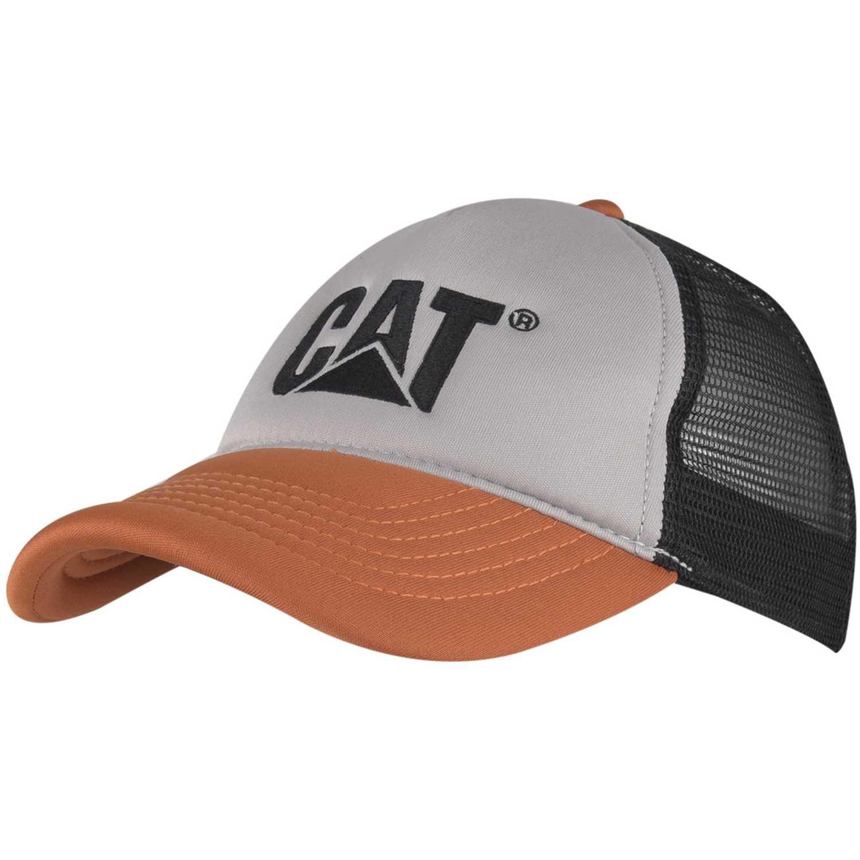 Gorros de Niña CAT Plomo / naranja contrast cat hat