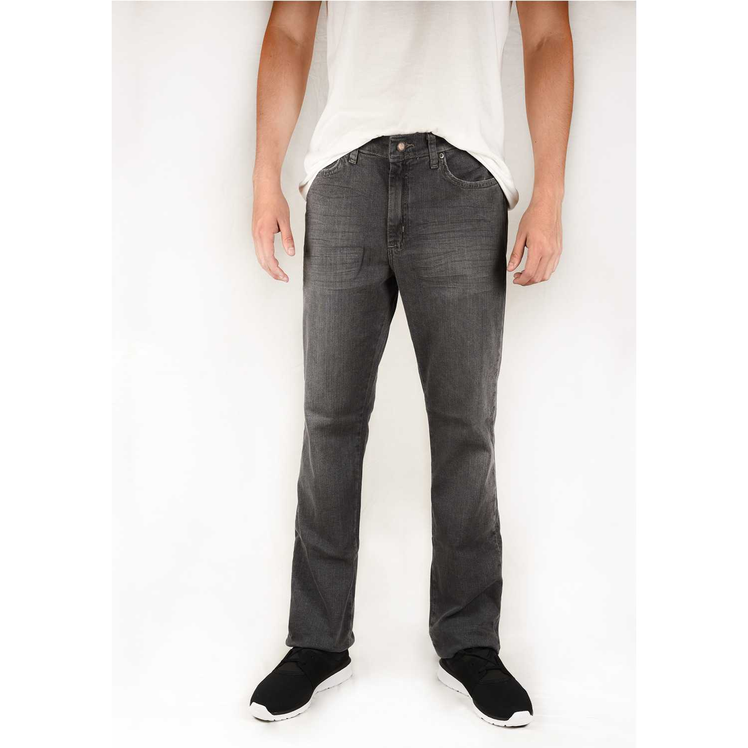 Casual de Hombre Wrangler Plomo brockton authentic