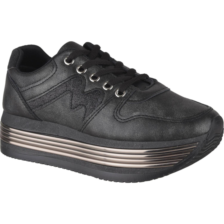 Platanitos Zc 3327 Negro Zapatillas de moda