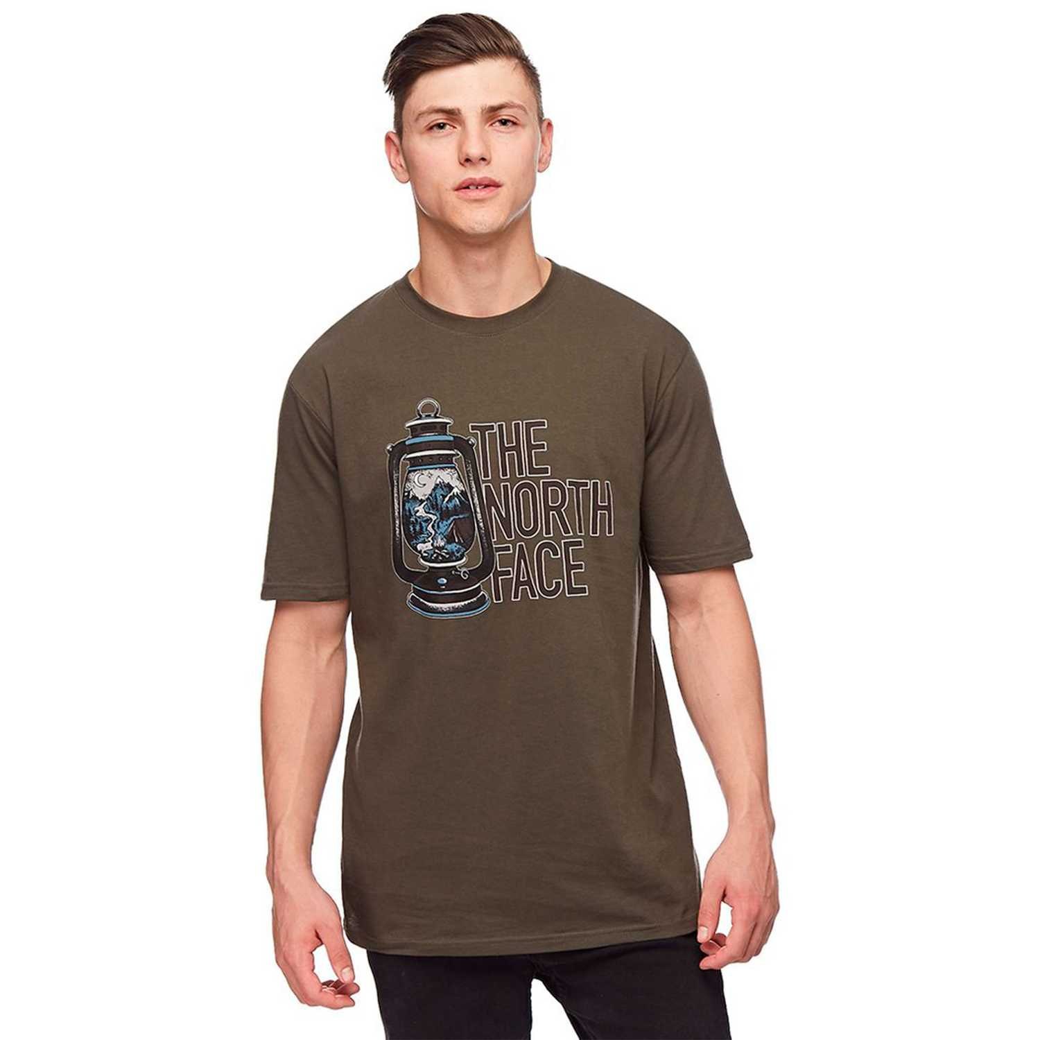 Polo de Hombre The North Face Verde m s/s essentials tee