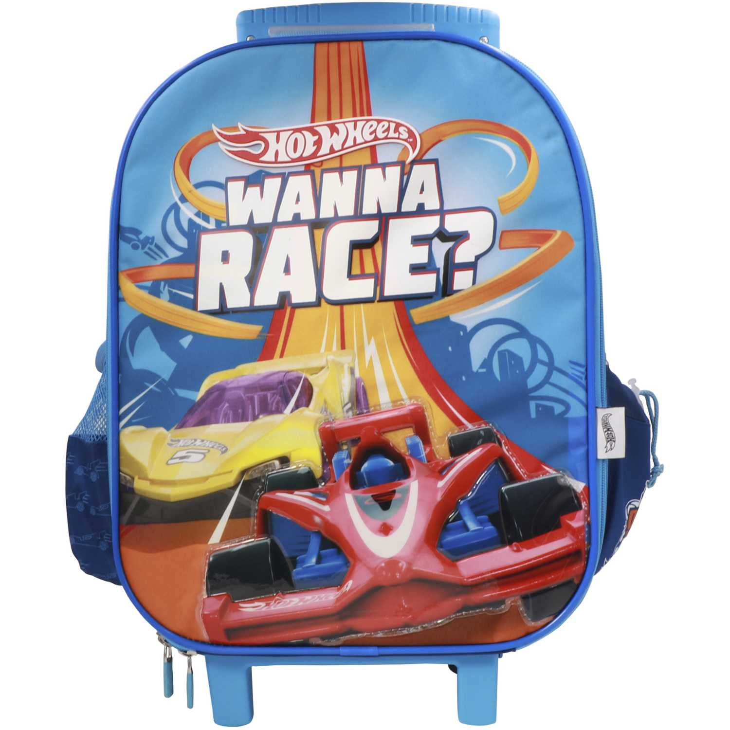 Hot Wheels Maleta Con Ruedas Hot Wheels Azul Mochilas