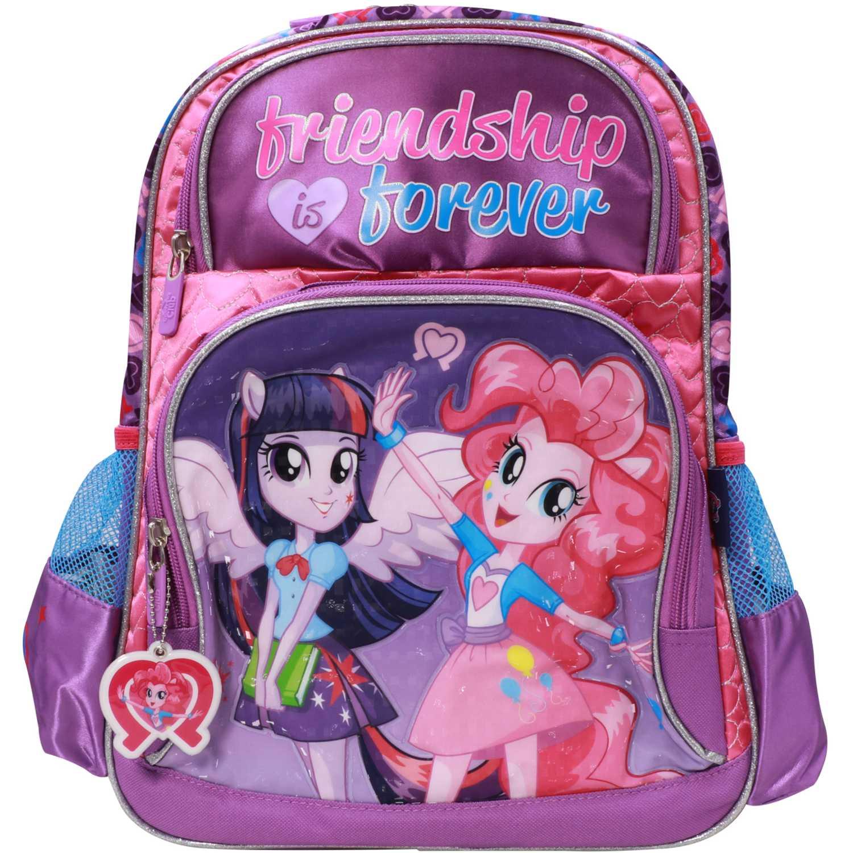 My Little Pony Mochila Mlp Equestria Girls Morado / fucsia Mochilas