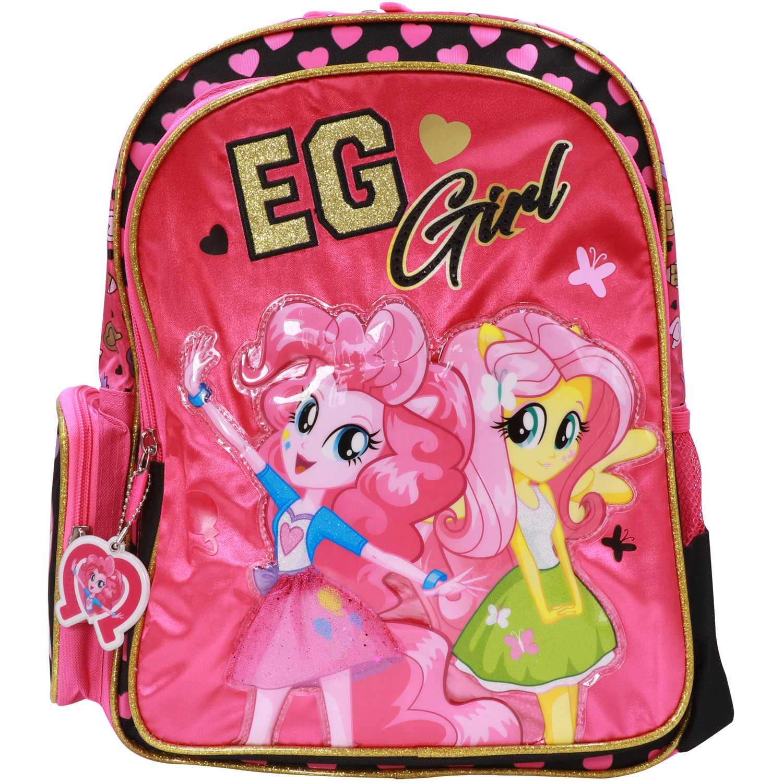 My Little Pony mochila mlp equestria girls Rosado / negro mochilas