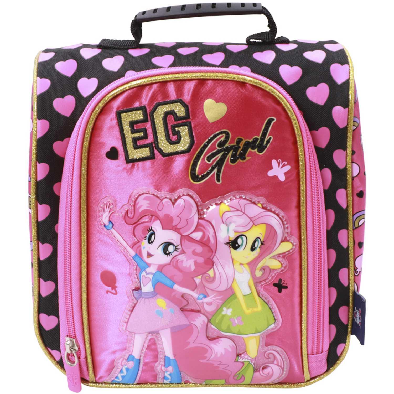 Loncheras de Mujer My Little Pony Rosado / negro lonchera mlp equestria girls