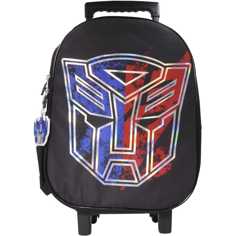 Maletínes de Mujer Transformers Negro maleta con ruedas transformers