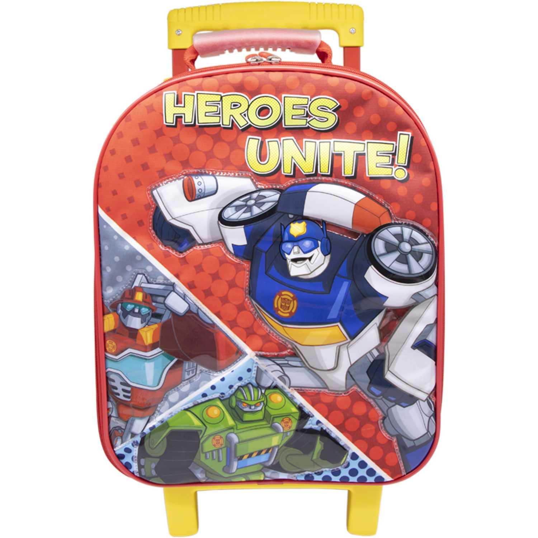 Maletínes de Mujer Transformers Rojo / azul maleta con ruedas trf rescue bots