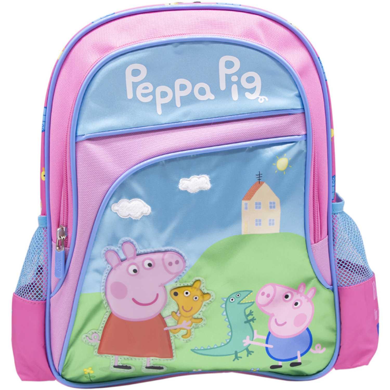 Mochilas de Niña Peppa Pig Rosado / celeste mochila peppa pig