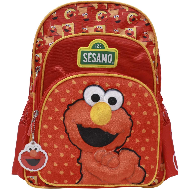 Mochilas de Niña Sesamo Rojo mochila sesamo