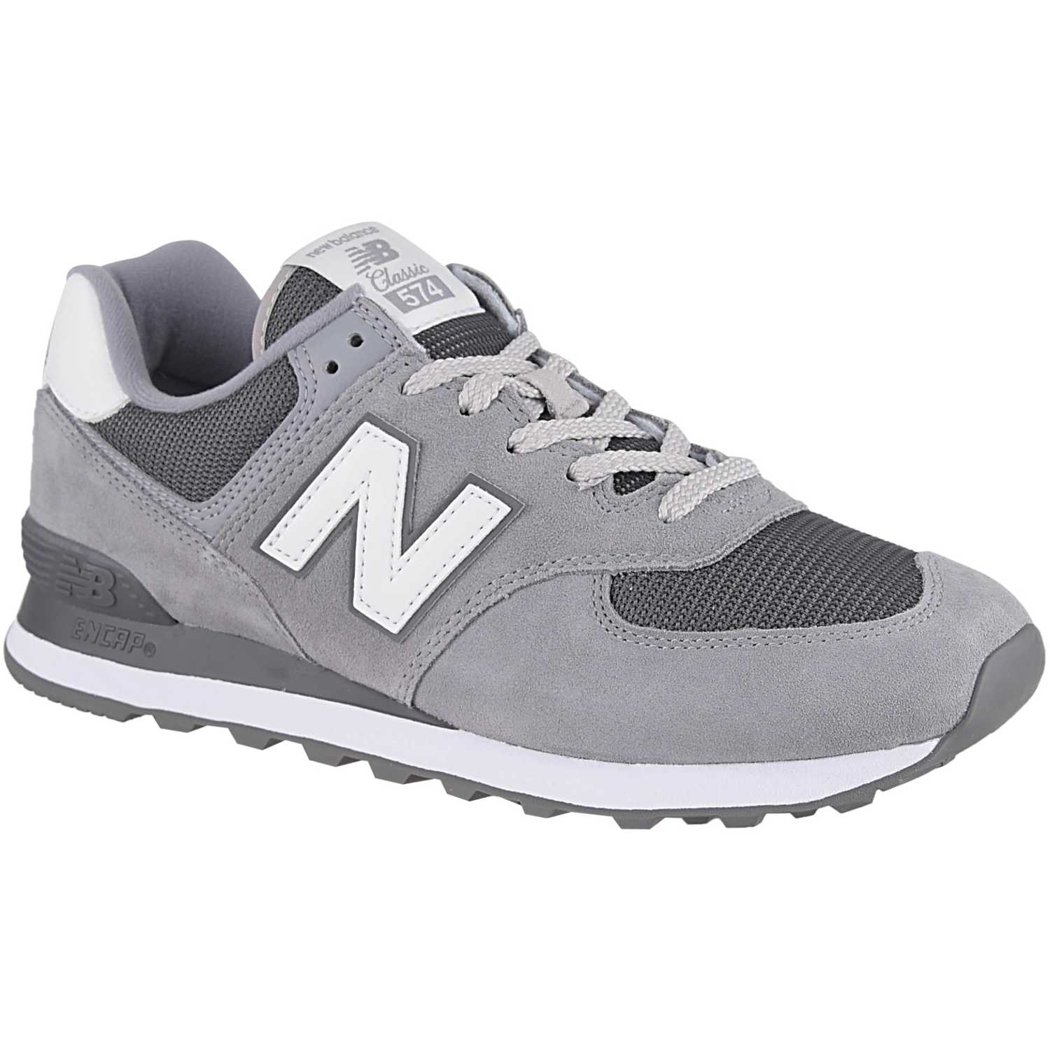 New Balance 574 Gris / plomo Walking | platanitos.com