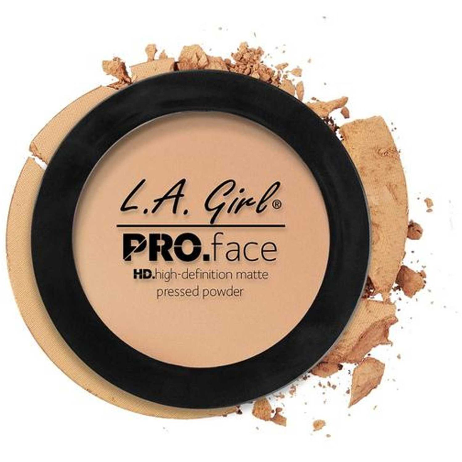 L.a. Girl Pro Face Matte Pressed Powder Nude Beige Correctores