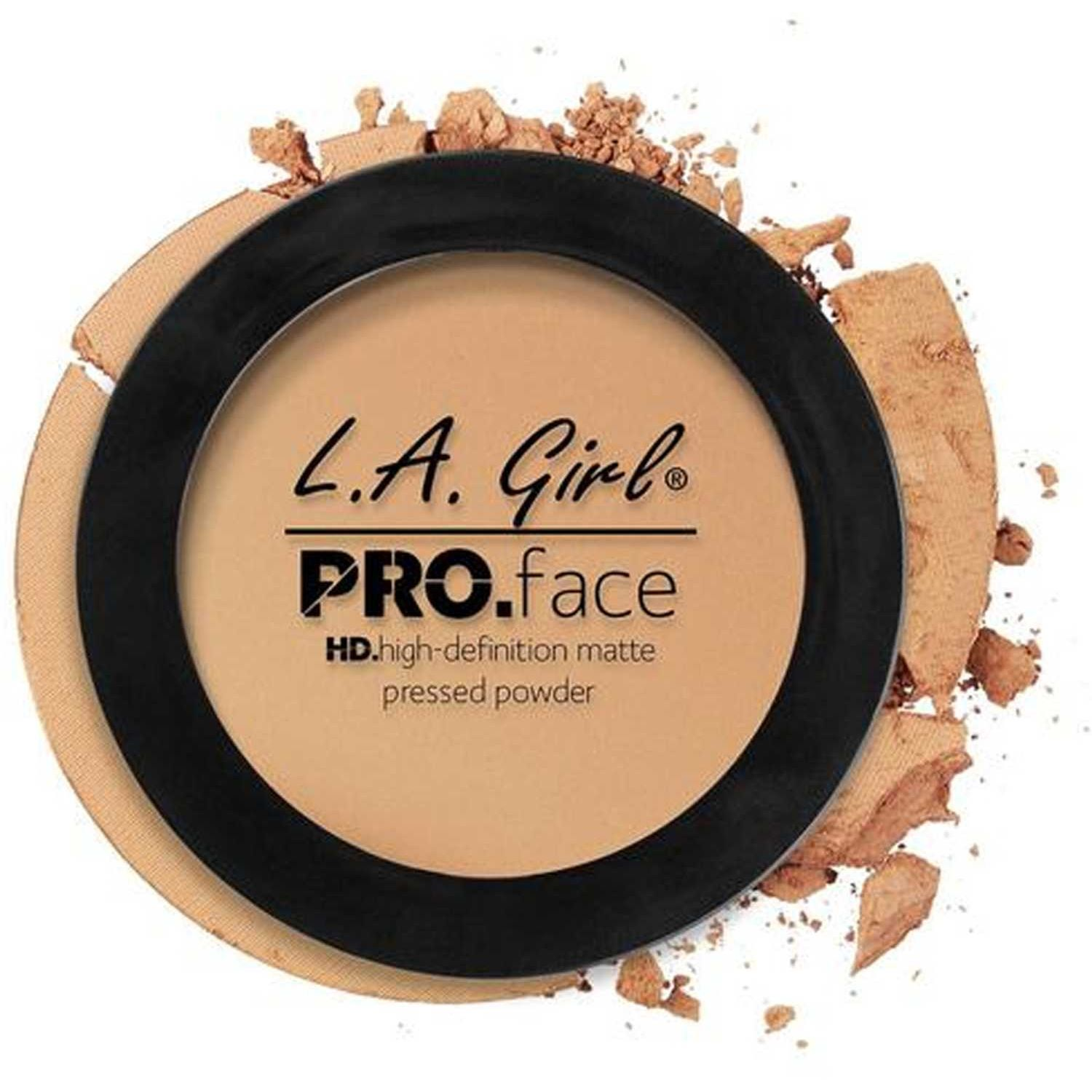 L.a. Girl pro face matte pressed powder Soft Honey Correctores y neutralizadores