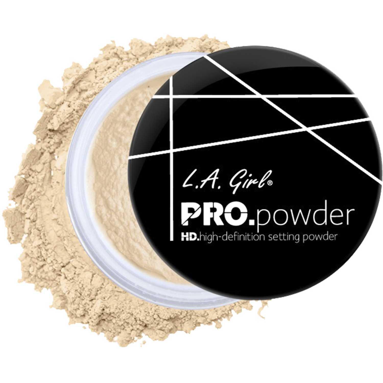 L.a. Girl polvo pro setting powder Banana Yellow Correctores y neutralizadores